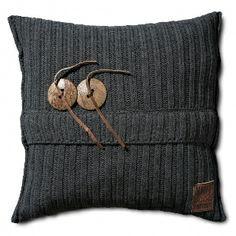 knitfactory kussen 50 x 50 Aran - Kussens | Kindercompagnie.nl