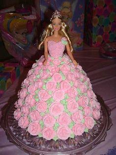 Barbie Birthday Cake on Cake Central