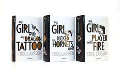 Book design, redesign of Stieg Larssons Millenium Stieg Larsson, Book Design, Behance, Books, Behavior, Livros, Libros, Book, Book Illustrations