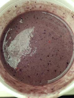 My breakfast smoothie for 1 serving with Nutribullet.  1 cup Mixture of spinach, kale, and collard green 1 cup Mixed berries 1 Banana 1/2 cup Old Fashioned Oatmeal or 1 packet instant Oatmeal 1 cup of Almond Milk #food #recipe