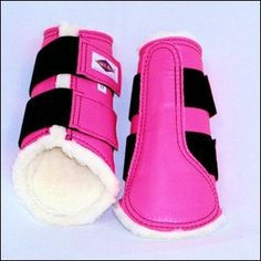 Washable Apollo Dressage Boots by Pelham Ascot *COLORS*  Would love to use these in the breast cancer fundraiser show!