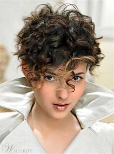 Short Hair Styles For Thick Curly Hair - The best location to look for good deals as well as discover the cheapest costs is to use your pc at home. Pixie Hairstyles, Short Curly Hairstyles For Women, Pixie Haircut For Thick Hair, Thick Curly Hair, Short Curly Haircuts, Curly Hair Cuts, Short Hair Cuts, Curly Hair Styles, Curly Short