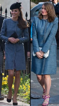 Kate & another guest wore the same M Missoni coat for March 29th, 2014 wedding of Lucy Meade and Charlie Budgett. These photos are by IKON Pictures (Jesal Parshotam & Niraj Tanna), and SplashNews.com.