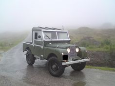 Land Rover 80 Series One Pickup.