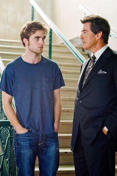Robert Pattinson &  Pierce Bronsan
