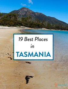 Planning to travel to Tasmania? Here are 19 best places in Tasmania, Australia to visit and what to see and do there. Happy pinning Is Tasmania on your Australian bucket list? Here are 19 of the best places to visit. Oh The Places You'll Go, Cool Places To Visit, Places To Travel, Travel Destinations, Travel Tips, Travel Oz, Holiday Destinations, Travel Ideas, Travel Inspiration
