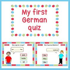 Here is a free self checking PowerPoint quiz for beginning learners of German. It's simple and fun. Viel Spaß!