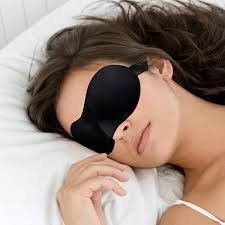 Premium Sleep Mask Sandman Sleep Products, Sleek Contoured Memory Foam Design Created for Optimal Comfort & Softness - Sleep, Nap, and Travel in Complete Darkness (Black) - Great Travel...