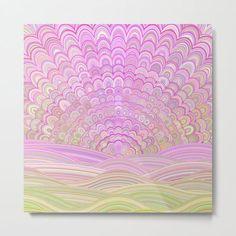 Pink Sunrise Mandala Metal Print by David Zydd #MandalaMetalPrint #BestMetalPrints #Flora #FloralDesign #BohemianArt (tags: hippie, mandala home design, art, mandala wall art, sacred geometry, interior design, aluminium, floral, mantra, metallic, mandala home decoration, product design, geometrical, mandalas, home) Art Prints For Sale, Framed Art Prints, Canvas Prints, Mandala Print, Flower Mandala, Wall Design, Design Art, Floral Design, House Design
