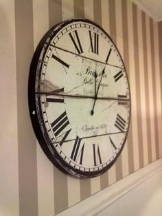 love the clock... Arboretto store