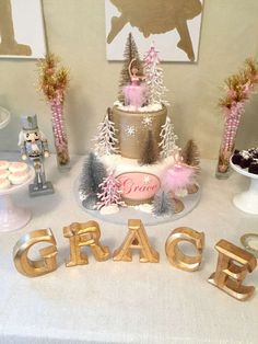 Nutcracker birthday party! See more party planning ideas at CatchMyParty.com!
