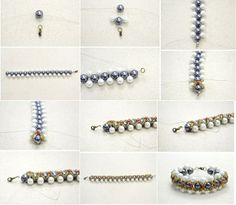 DIY-How to Make a Woven Pearl Bracelet with Seed Beads. Check out the full tutorial by PandaHall featured in Sova-Enterprises.com recent Newsletter!