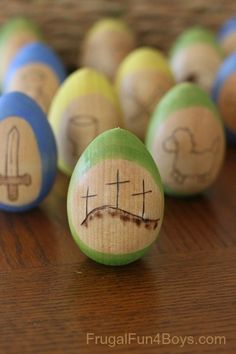 Love these DIY Resurrection Eggs!