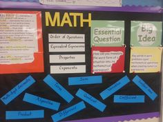 6.EE.1 6.EE.2.c  Evaluating Expressions Exponents Order of Operations