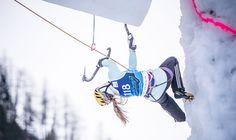 Arrampicata su ghiaccio: a fine mese la Coppa del Mondo a Corvara #iceclimbing