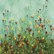 Canvas print - Balloon Garden