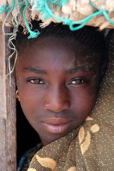 A Shy Face- Senegal (by Alan1954)