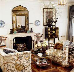 Interior is designed by Alex Papachristidis