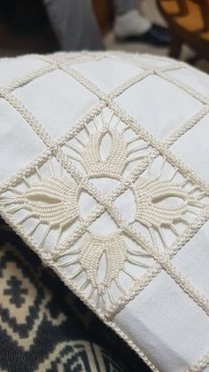 Best 12 Beverley Petersen's media content and analytics Hardanger Embroidery, Ribbon Embroidery, Embroidery Stitches, Irish Crochet, Crochet Lace, Romanian Lace, Bruges Lace, Crochet Flower Tutorial, Drawn Thread