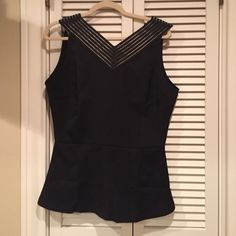 Elizabeth and Clark  fabulous top Brand new! Style is The Edwards. Beautiful v neck in front and back. Zip back. Machine washable. Never worn Elizabeth & Clarke  Tops
