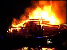 Family safely escapes boat fire thanks to fire alarm