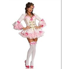 Adult\'s X-Small Size 0-2 Sexy Mon Ami Victorian Marie Antoinette Costume