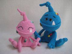 Spot The Monster Amigurumi Crochet Pattern PDF DIY Animal Alien Toy Baby Gift by Millionbells on Etsy https://www.etsy.com/ca/listing/535054919/spot-the-monster-amigurumi-crochet