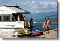 Houseboating vacations and houseboat rentals in British Columbia, Canada. BC charter companies offering houseboats, rentals and houseboating vacations Houseboat Rentals, Utility Boat, Cabin Cruiser, Houseboats, Need A Vacation, Small Boats, Submarines, Boat Plans, Wooden Boats