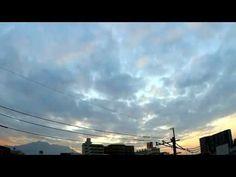 鹿児島市の空|七十二候「泉水温をふくむ」の朝をタイムラプスで Shot by WG-M1