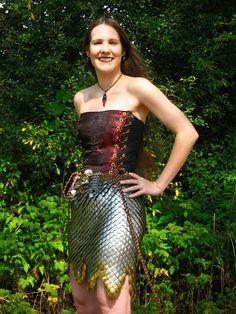 Scale Skirt - Side by ~MetalArtisan on deviantART