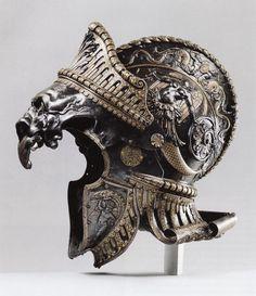 肩に宿した目が疼くぜ。ルネッサンス期、イタリアの鎧師の超絶アーマー : カラパイア