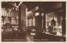 Kreis, Wilhelm - Rheinterrasse Restaurant, bar area, Düsseldorf, 1924-26