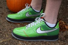 super popular f34a2 fb265 Nike Air Force 1s Frankensteins