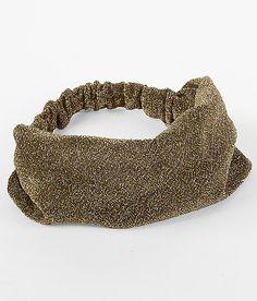 """""""Daytrip Metallic Thread Headband"""" www.buckle.com"""
