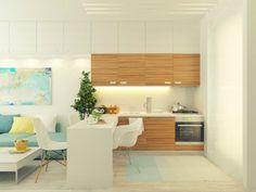 Mini departamento | Masisa Inspira – Decoración, diseño de interiores y los mejores profesionales para usted