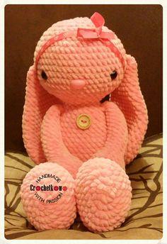Amigurumi, bunny, Sidrun, Crochetkowo
