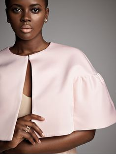 Philomena Kwao #model #fashion #pink