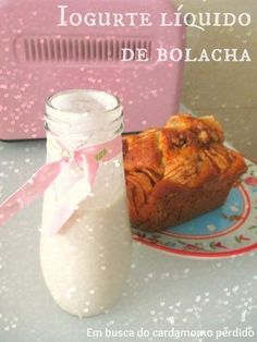Iogurte líquido de bolacha - Bimby Tm5