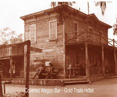 Old west hotel