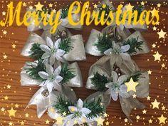 Manualidades Navideñas de Lazo para el arbol de Navidad. - YouTube