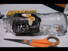 craquelado sobre carton y vidrio con goma escolar - Easy Crackle finish with glue - YouTube