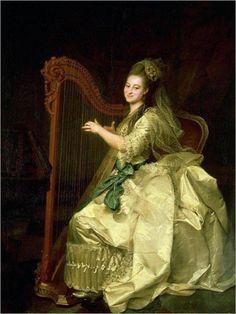 Portrait of G. I. Alymova (1775). Dmitry Levitzky