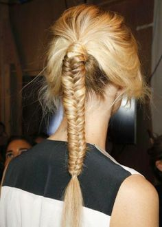How to Chic: SUMMER FISHTAIL BRAID - TUTORIAL