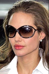 Angelina in cat frames