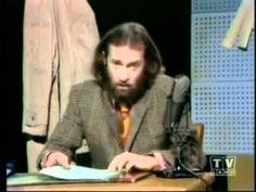 Flip Wilson -  George Carlin Funny News 2 of 3  (The Hippy Dippy weatherman!.)
