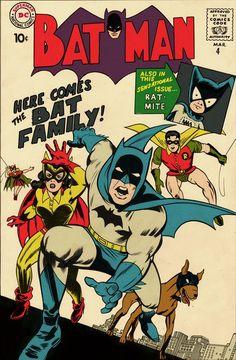 Batman and robin and company Batman Comic Books, Comic Books Art, Comic Art, Robin Comics, Silver Age Comics, Dc Comics Superheroes, Batman Comics, Vintage Comic Books, Vintage Comics