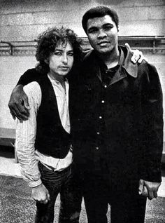 Bob Dylan and Ali