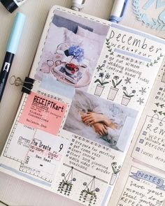 Bullet Journal 2, My Journal, Journal Pages, Bujo, Brand New Day, Memory Books, Bullet Journal Inspiration, Smash Book, Planner Stickers