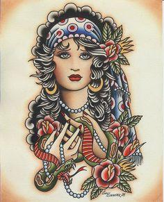 spider murphy's tattoo flash | Tattoos Tattoo Flash Theo Mindell Spider Murphy S Santattooscom