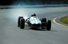 Dan Gurney in the Eagle T1G, winning the Belgian Grand Prix in 1968.
